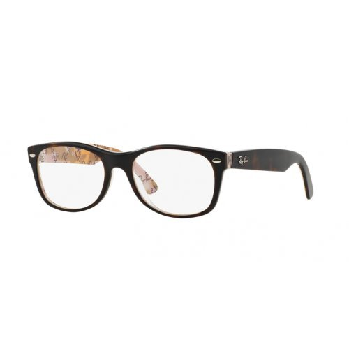 Ray Ban Unisex RX 5184 schildkröte - Brille lenses 52 mm
