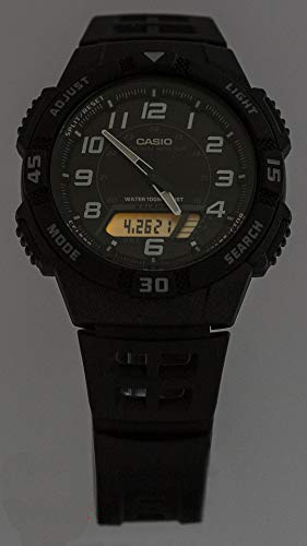 Casio Herren-Armbanduhr Analog – Digital Quarz Resin AQ-S800W-1BVEF - 6