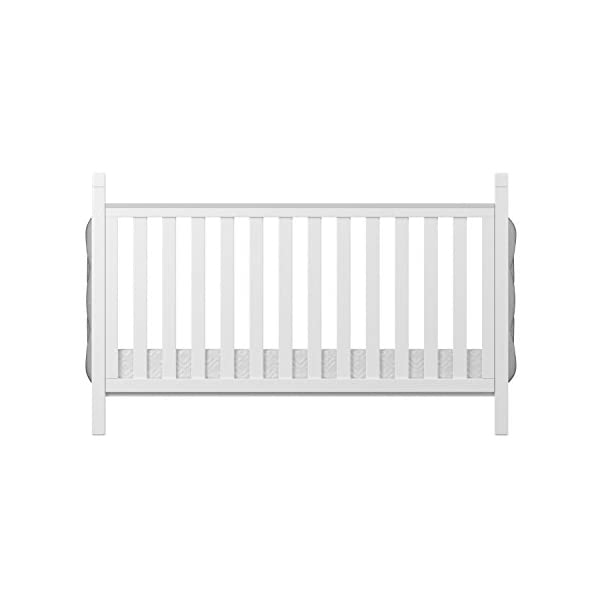 Babymore Velvet Deluxe Cot Bed  Diamante and velvet tufted upholstery Distinctive design for nursery Generous 5 cm solid wood structure, last for years of use 7