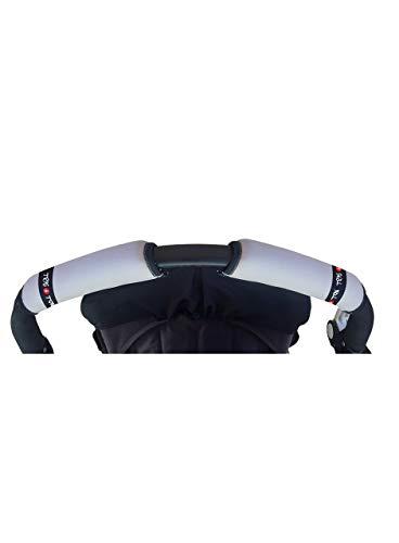 tris & TON - protection couvre Poignée, appareil pour chaise de Promenade ¡différents motifs . gris