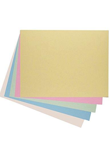 House of Karte & Papier A2220gsm Pastellfarben Karte–sortiert (50Stück Blatt)
