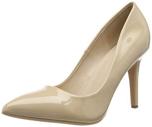 Elara Spitze Damen Pumps | Bequeme Lack Stilettos | Elegante High Heels | chunkyrayan