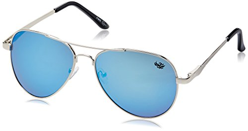 Flying machine Aviator Sunglasses (Silver) (FMS-112|121/105D|FREESIZE)  available at amazon for Rs.649