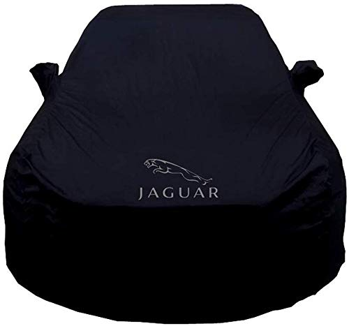 ZGYQGOO Car Cover Passend für Jaguar XJL Bekleidung Xfl Xf XE F-Tempo F-Typ Xel Special Car Cover Sonnenschutz Car Cover (Farbe: Schwarz, Größe: Xfl)