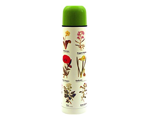 Gift Republic Bouteille Isotherme Motif Fleurs Sauvages