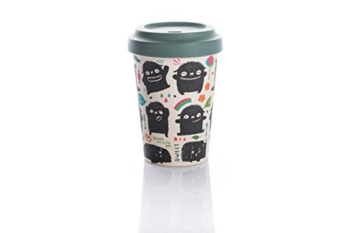 Coffe to go Becher Bamboo Cup (Monster Greetings)