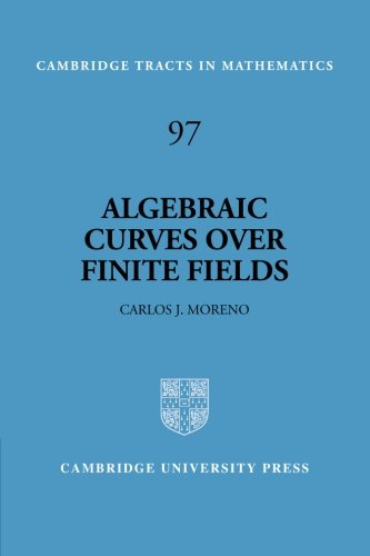 Algebraic Curves over Finite Fields: Error-correcting Codes and Exponential Sums (Cambridge Tracts in Mathematics)