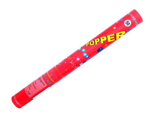 Alsino Konfetti Shooter Popper Party Kracher 50 cm