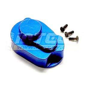 Integy RC Model Hop-ups T8462BLUE Alloy Gear Cover for Losi Micro-T, Micro Baja, Desert Truck & Raminator