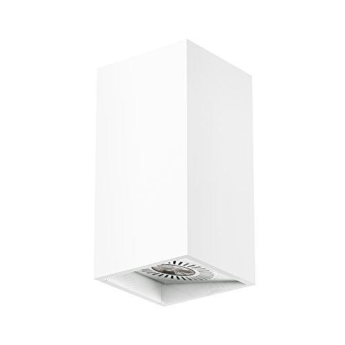 Osram LED-Wandleuchte, Tresol, weiß, Innenleuchte, horizontale und vertikale Montage, LED-Spots 60° schwenkbar, 4,5 Watt, Warmweiß-3000K -