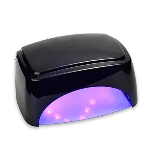 Lámpara UV UV para uñas, secadora de uñas de 60 vatios, gel Polish Light, máquina de secado rápido con luz UV para uñas, secadora de gel LED para curado de uñas,White