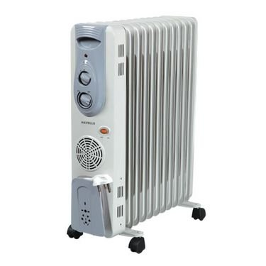 Havells OFR 11 Fin 2900-Watt PTC Fan Heater (White)
