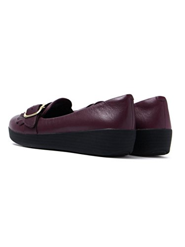 FitFlop Buckle Sneakerloafer - Black Purple