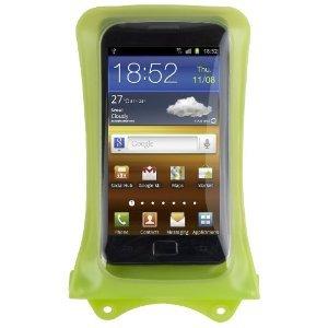 DiCAPac WP-C1 wasserdichtes Smartphone Case für Android Smartphones wie HTC EVO 4G / HTC One / Samsung Galaxy S2 , S3 / Motorola Defy / Samsung Galaxy Nexus / LG Optimus / Sony Xperia uvm. (Farbe Android-Grün)