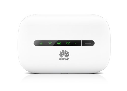 Huawei E5330 White 3G, (Genuine UK Stock) Gaming/ Travel Mobile Wi-Fi, Unlocked to all Networks with No Configuration Required