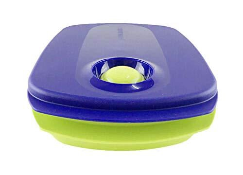 chenqian1 Lunchbox Blue Lime Kann Beheizt Werden 3-Teiler-Mikrowelle Lunchbox (1) 1 0L