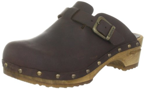 Sanita Kristel open, Damen Clogs, Braun (antique brown 78), 37 EU