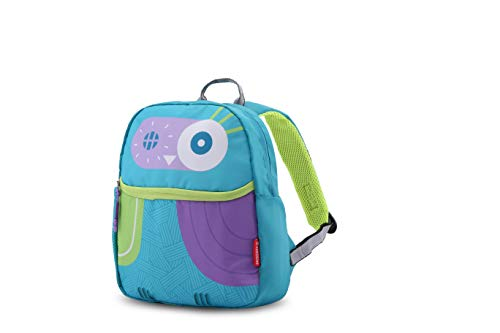 Harissons Owl Teal Purple Green 7L Bag for Kids/Toddlers (3-4 yrs Old only)