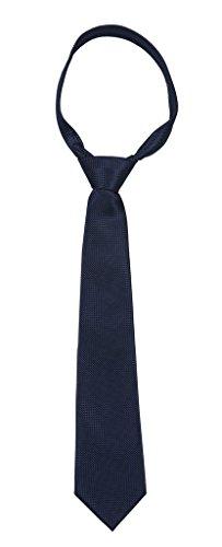 Modo-Formal-Ties-For-Men-Geometric-Dark-Blue-Slim-Tie