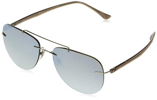 Ray-Ban RAYBAN Herren Sonnenbrille 0rb8059 003/B8 57 Silver/Gradientbrownmirrorsilver
