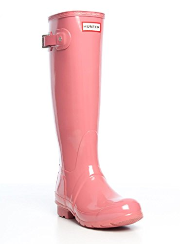 Hunter Original Tall Gloss Rosa