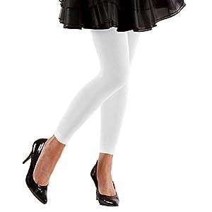 WIDMANN 20421 - Leggings 70 DEN, color blanco, talla única