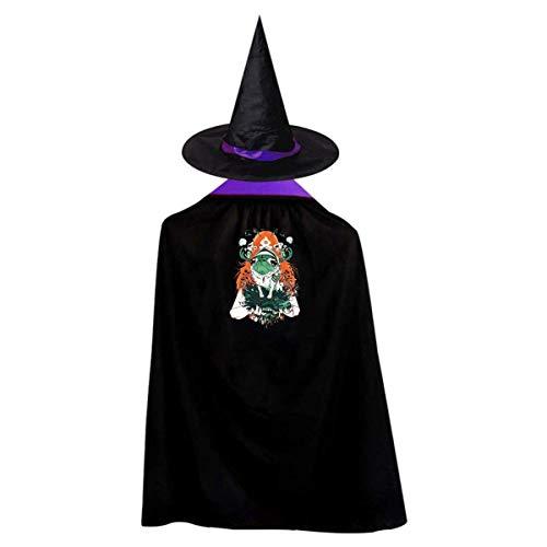 Funny Boy Halloween Kostüm - TIERA BENDER Funny Pug Witch Wizard