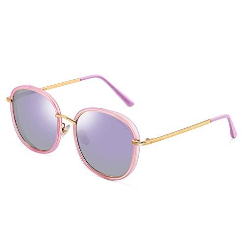 KISlink Sonnenbrillen Damenmode Stil Wayfarer Polarisierte Sonnenbrillen Brillen (Farbe: E)