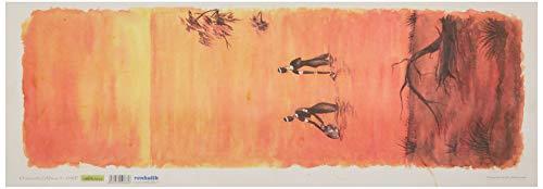 Renkalik renkalikqsipo018p 25x 70cm África Opiniones 1Hoja de Papel de póster de impresión de Seda (Juego de)