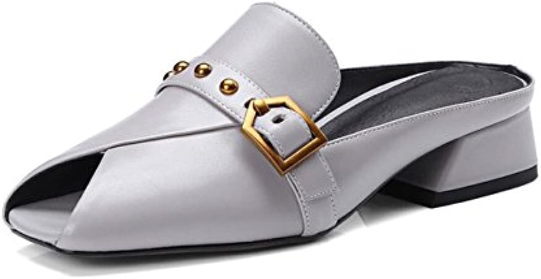 Moda Nuevo Zapatos con Tacon Alto para Mujer Plataforma 38 EU|Frostedyellow