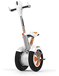 AirWheel AW-A3 scooter auto balanceado - scooters auto balanceados (Naranja, Color blanco, Metal, Ión de litio)