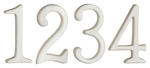 1-4 aus weisser Keramik für Adventskranz Kerzen Adventskerzen (Adventskranz Handwerk)