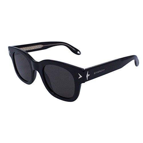 Givenchy gv 7037/s nr y6c, occhiali da sole unisex-adulto, nero (black black crystal/brown), 47