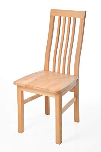acerto 20160 FLORENZ silla de mesa de comedor de haya * madera ...