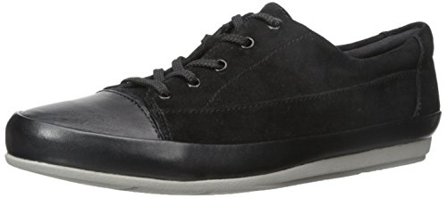 Clarks Lorry Gnade Wohnung Black Suede/Leather