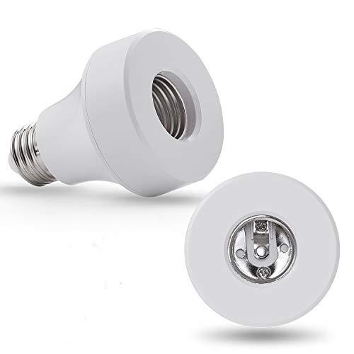 Wi-Fi Smart Light Bulb Socket Bulb Adattatore Base, usato usato  Spedito ovunque in Italia