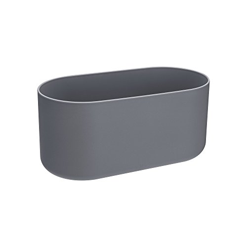 Elho B.for Soft Duo 27 - Pot De Fleurs - Anthracite - Intérieur - Ø 27 x H 12.6 cm