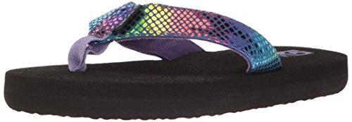 Teva Girls' MUSH II Sandal, Purple/Multi Snake, 5 M US Toddler Purple Snake Schuhe