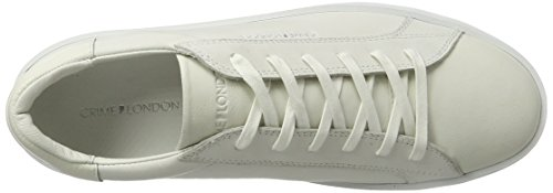 Crime London Dynamite, Sneakers Basses Homme Blanc (Weiß)