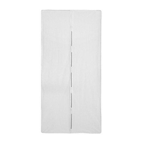 Zanzariera magnetica per porta finestra universale 120 x 220 cm colore bianca
