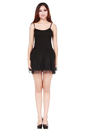 sexylady - Robe - Pull - Sans Manche - Femme taille unique Noir