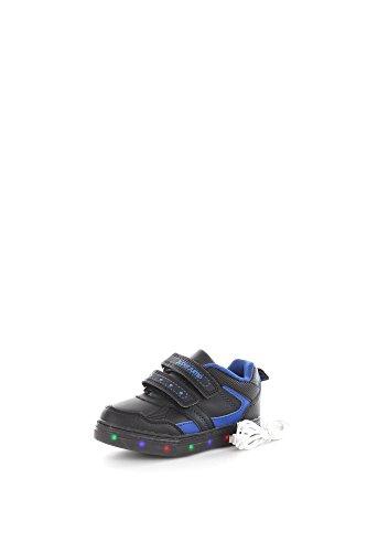 Super Jump 2910 Sneakers Bambino Eco-pelle Nero Nero 33