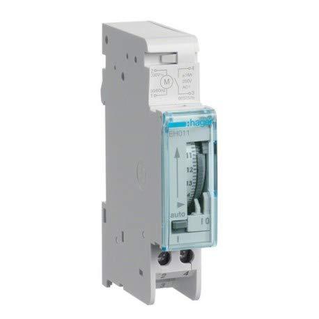 Hager EH011 Tageschaltuhr 1S/16A 1PLE analog m.Gangreserve - Gas-wasser-heizung-teile