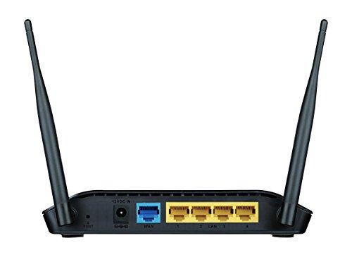 D-Link DIR-615 Wireless-N300 Router (Black)