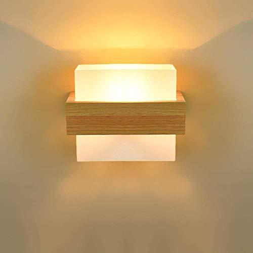 Wandleuchten LED-Licht Beleuchtung Schlafzimmer Wohnzimmer Lampe-Wand Glas Lampenschirm Korridor Balkon Nacht Seitenwand Lampen Innenraum Für Wohnkultur -