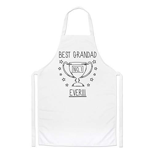 Mejor Abuelo Ever N º 1 Trophy Chefs Delantal