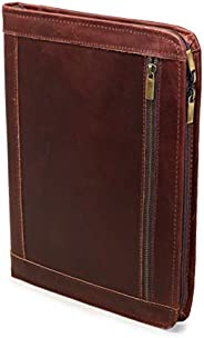 Handmade Genuine Leather Business Portfolio by Jaald | Professional Organizer Men & Women | Durable Leathe