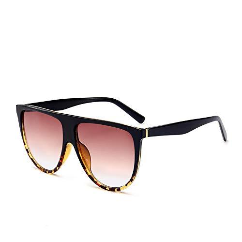 Brille Modetrend Big Box Sonnenbrille Europa und den Vereinigten Staaten große Marke mit dem gleichen Absatz Sonnenbrille rosa Figur