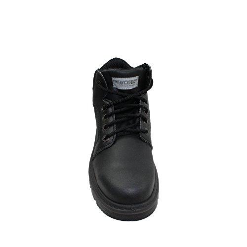 Fort work titane s3 chaussures berufsschuhe businessschuhe chaussures de trekking (noir) Noir - Noir