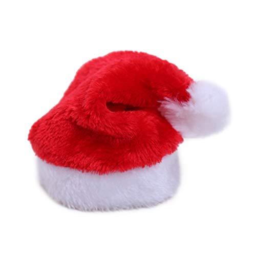 BESTOYARD Weihnachtsmütze für Hund Weihnachtsmütze Cute Dog Cat Pet Weihnachtskostüm Outfits Kleiner Hund Headwear Hair Grooming Zubehör (Cute Halloween Cat)